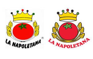 Marca antiga à esquerda, primeira evolução da marca à direita.