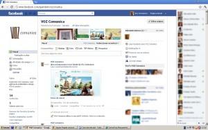 Quem Tem Voz Comunica no Facebook
