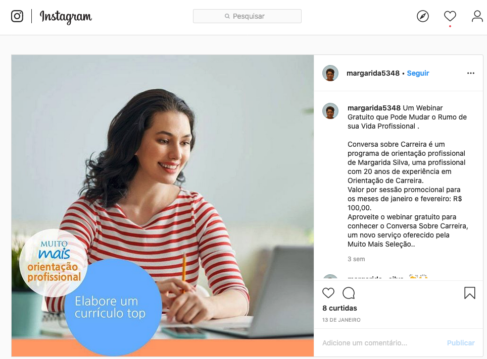 A jornada do consumidor da campanha passa por redes sociais